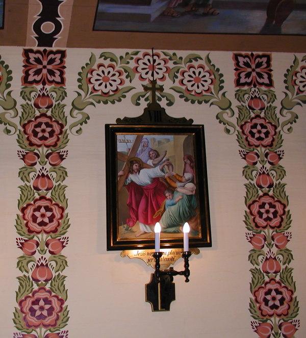 Odnowiona polichromia w kościele w Jurgowie
